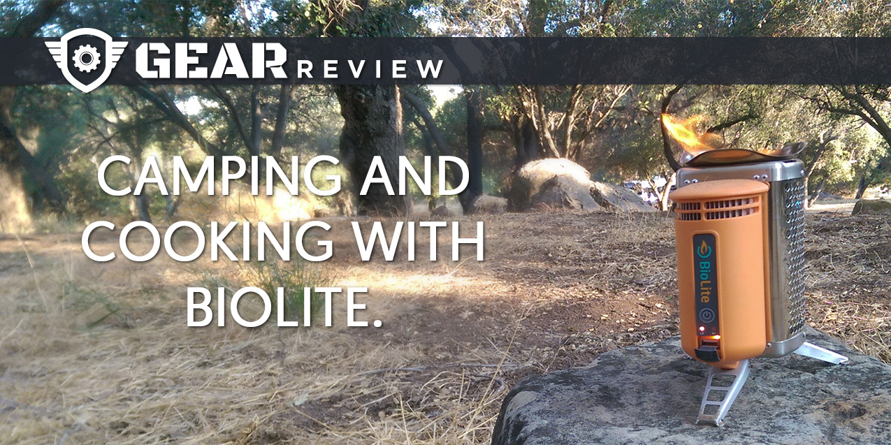 Gear Review: Camping and Cooking with BioLite