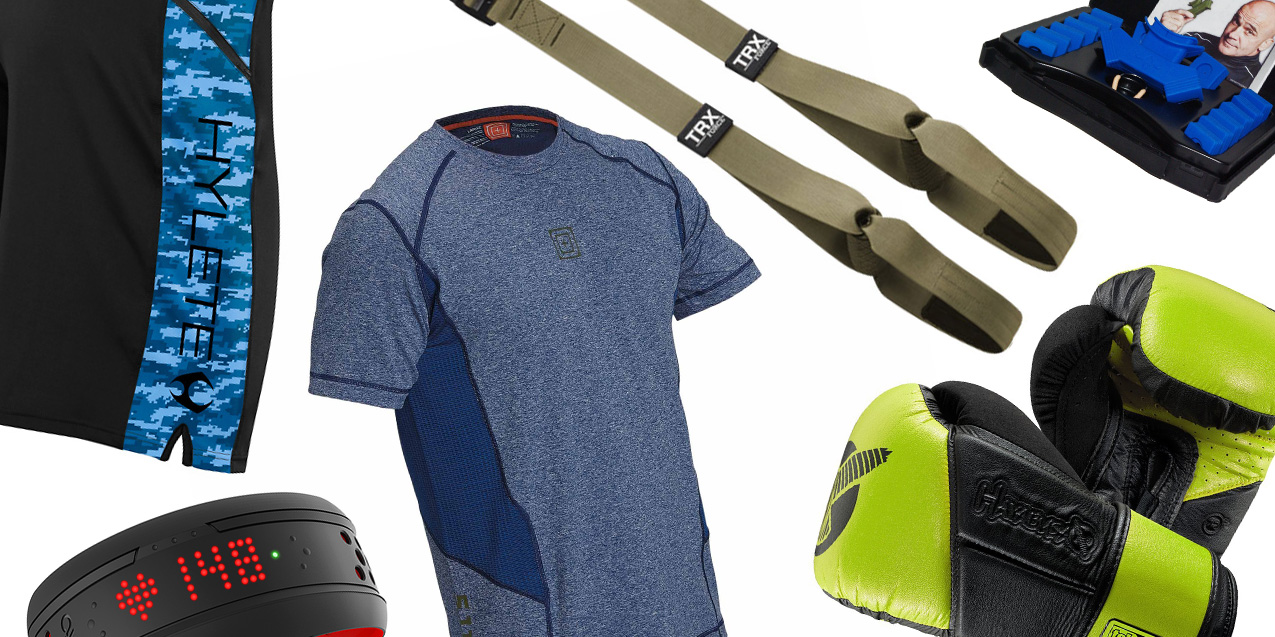 10 Fitness Items for Building the Best You in 2016