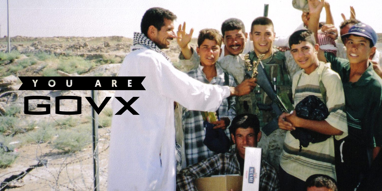 Impersonating Saddam Hussein Makes Iraqi Kids Laugh