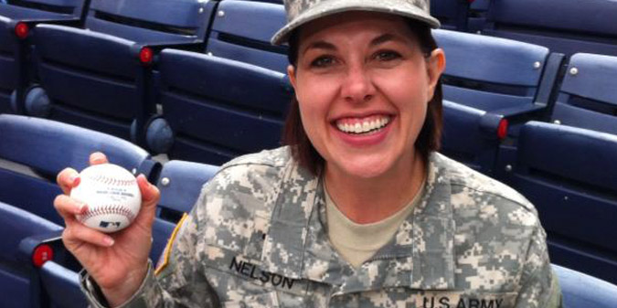 Military Appreciation Honoree - CH (CPT) Leslie Nelson