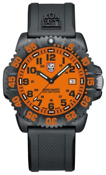 Luminox navy seal colormark 3050 series watch gov 39 t military discount govx for Watches navy seals use